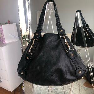Authentic Gucci GG Monogram Pelham leather Handbag